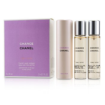 Chanel Chance Eau Vive Twist & Spray Eau De Toilette