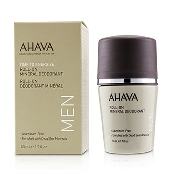 Ahava Time To Energize Desodorante Mineral en Roll-On