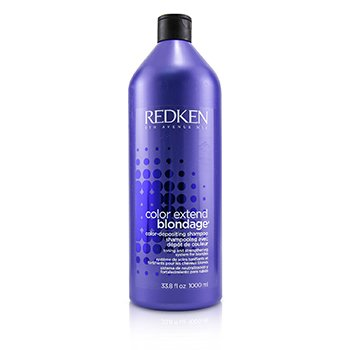 Redken Color Extend Blondage Color-Depositing Champú (Para Rubios)