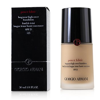 Giorgio Armani Power Fabric Base Cobertura Alta de Larga Duración SPF 25 - # 5.25