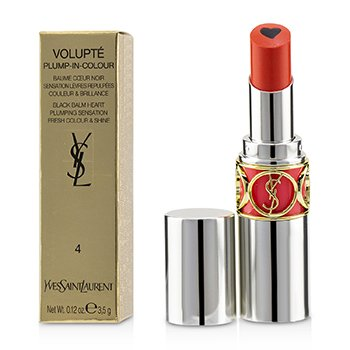 Yves Saint Laurent Volupt Plump In Colour Bálsamo de Labios - # 04 Exposing Coral (True Coral)