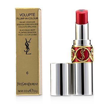 Yves Saint Laurent Volupt Plump In Colour Bálsamo de Labios - # 06 Lunatic Red (Blue Red)