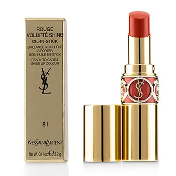 Yves Saint Laurent Rouge Volupte Brillo - # 81 Corail Aviator