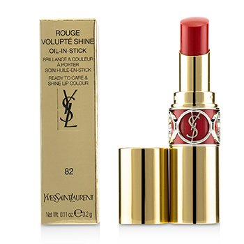 Yves Saint Laurent Rouge Volupte Brillo - # 82 Orange Crepe