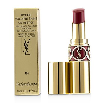 Yves Saint Laurent Rouge Volupte Brillo - # 84 Rouge Cassandre