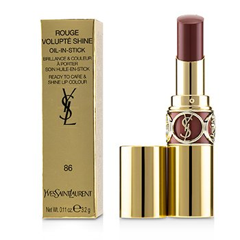 Yves Saint Laurent Rouge Volupte Brillo - # 86 Mauve Cuir