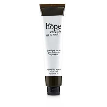 Philosophy When Hope Is Not Enough Gel Aceite Mascarilla