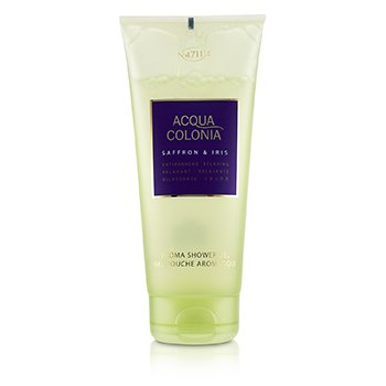 4711 Acqua Colonia Saffron & Iris Aroma Shower Gel