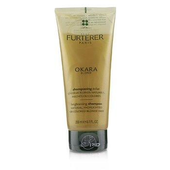 Rene Furterer Okara Blond Blonde Radiance Ritual Brightening Shampoo (Natural, Highlighted or Colored Blonde Hair)