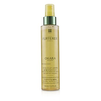 Okara Blond Blonde Radiance Ritual Brightening Spray (Natural, Highlighted or Colored Blonde Hair)