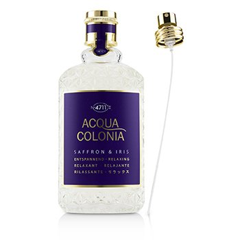 4711 Acqua Colonia Saffron & Iris Eau De Cologne Spray (Sin Caja)