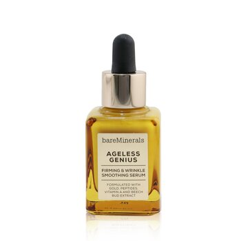 Bare Escentuals Ageless Genius Firming & Wrinkle Smoothing Serum (Box Slightly Damaged)