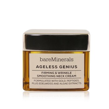 Bare Escentuals Ageless Genius Firming & Wrinkle Smoothing Neck Cream (Box Slightly Damaged)
