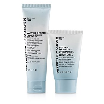 Peter Thomas Roth Kit Hyaluronic Happy Hour 2-Piece: 1x Limpiador 30ml + 1x Hidratante 20ml