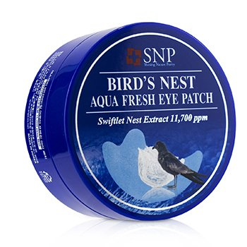 SNP Birds Nest Aqua Fresh Eye Patch (Moistrue & Hydration)
