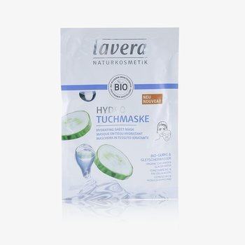 Lavera Sheet Mask - Hydrating (With Organic Cucumber & Glacier Water)