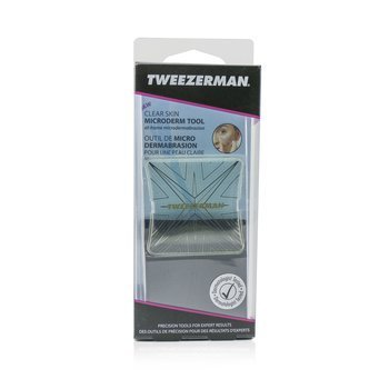 Tweezerman Clear Skin Herramienta de Micredermasión - At Home Microdermabrasion