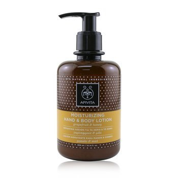 Apivita Moisturizing Hand & Body Lotion with Grapefruit & Honey