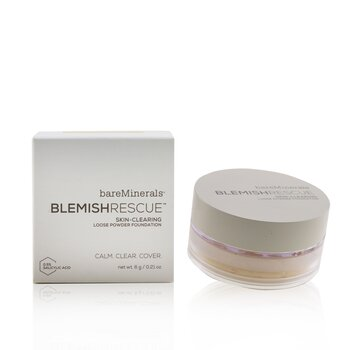 Bare Escentuals Blemish Rescue Skin Clearing Loose Base en Polvo - # Fair 1C