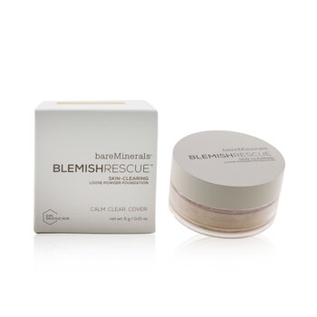 Bare Escentuals Blemish Rescue Skin Clearing Loose Base en Polvo - # Soft Medium 2CN