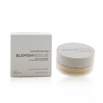 Bare Escentuals Blemish Rescue Skin Clearing Loose Base en Polvo - # Golden Beige 2.5NW