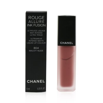 Chanel Rouge Allure Ink Fusion Ultrawear Color de Labios Líquido Mate Intenso - # 804 Mauvy Nude