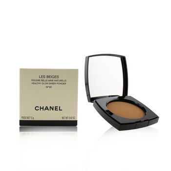 Chanel Les Beiges Healthy Glow Sheer Powder - No. 50