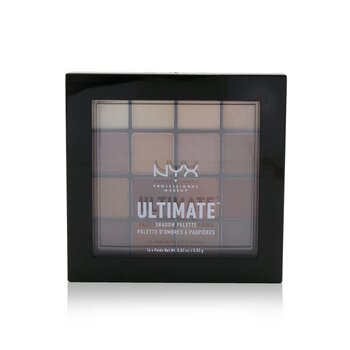 NYX Paleta de Sombra Definitiva (16x Eye Shadow) - # Warm Neutrals