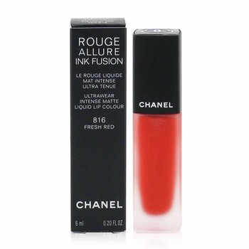 Chanel Rouge Allure Ink Fusion Ultrawear Color de Labios Líquido Mate Intenso - # 816 Fresh Red