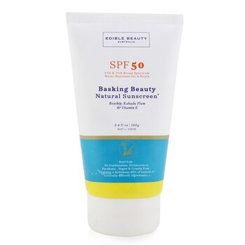 Edible Beauty Basking Beauty Protector Solar Natural SPF 50