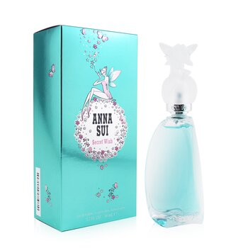 Anna Sui Secret Wish Eau De Toilette Spray (Tapa Ligeramente Dañada)