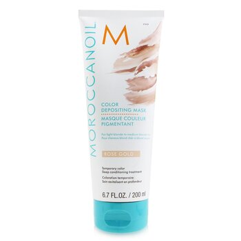 Moroccanoil Color Depositing Mascarilla - # Rose Gold