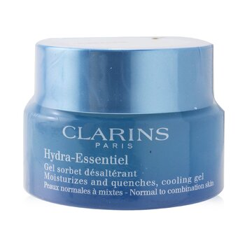 Clarins Hydra-Essentiel Moisturizes & Quenches Cooling Gel (Box Slightly Damaged)