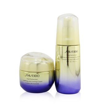 Shiseido Vital Perfection Firming Day & Night Set: Cream 50ml + Day Emulsion SPF 30 PA+++ 75ml