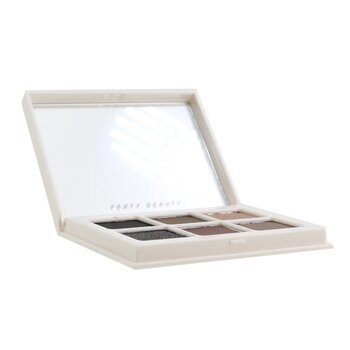 Fenty Beauty by Rihanna Snap Shadows Mix & Match Eyeshadow Palette (6x Eyeshadow) - # 6 Smoky (Smoky Eye Essentials)