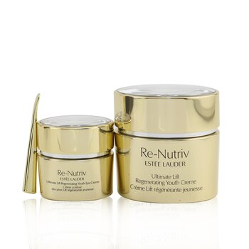 Estee Lauder Re-Nutriv Ultimate Lift Regenerating Youth Face & Eye Set: Face Creme 50ml+ Eye Creme 15ml