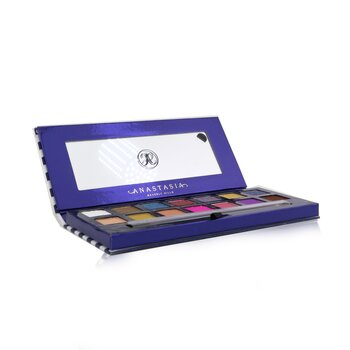 Anastasia Beverly Hills Riviera Eyeshadow Palette (14x Eyeshadow + 1x Duo Shadow Brush) (Unboxed)