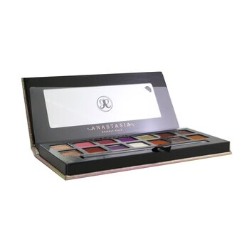 Anastasia Beverly Hills Jackie Aina Eyeshadow Palette (14x Eyeshadow + 1x Duo Shadow Brush)