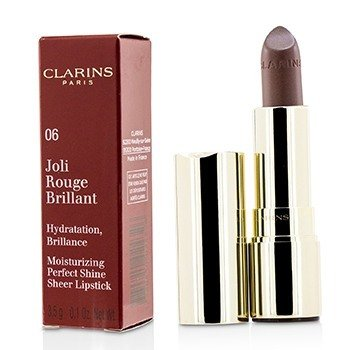 Clarins Joli Rouge Brillant (Pintalabios Hidratante Brillo Perfecto) - # 06 Fig