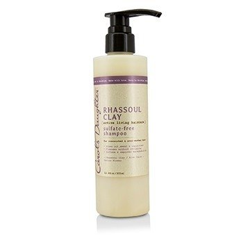 Carols Daughter Rhassoul Clay Active Living Haircare Champú Libre de Sulfato (Para Cabello Sobre Trabajado & Sobre Lavado)