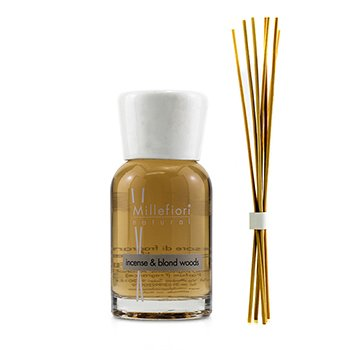 Millefiori Natural Fragrance Diffuser - Incense & Blond Woods